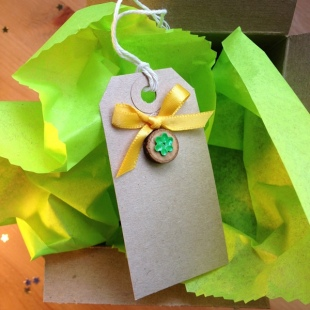 Recycled Tissue Paper Lime
