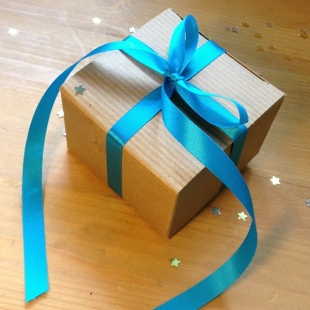 Ribbon Recycled Turquoise