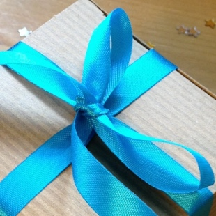 Ribbon Recycled Turquoise 1