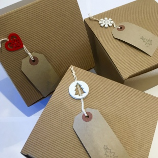 Festive Recycled Gift Box