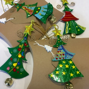 Metal Christmas Trees Recycled Gift Box 3