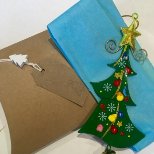 Metal Christmas Trees Recycled Gift Box 4
