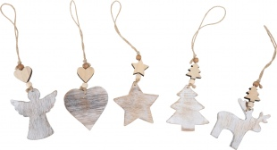 shabby Chic Festive decorations