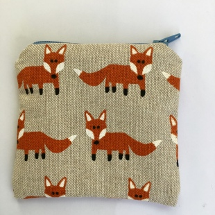 Coin Purse Foxes