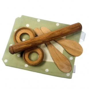 handturned baking kit