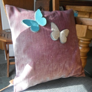 Butterfly Cushions Handmade 2