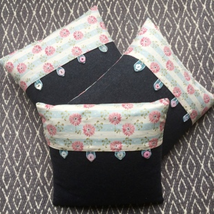 Pink Flower Cushion