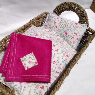 Handsewn bedding doll