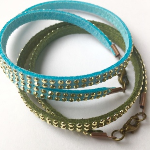 Bracelets Green & Turquoise