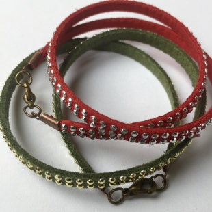 Bracelets Red and Green