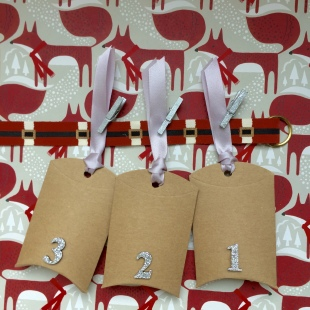 Advent Pillow Boxes Horizontal