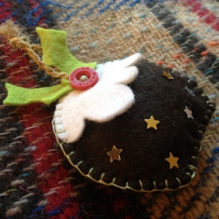 Christmas Pudding Decoration