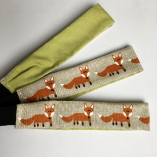 Fox Hairband Handmade