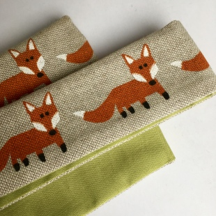 Foxes Hairband handmade