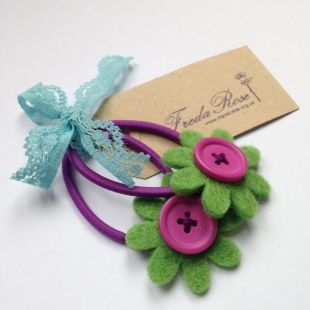 Green and Purple Bobble