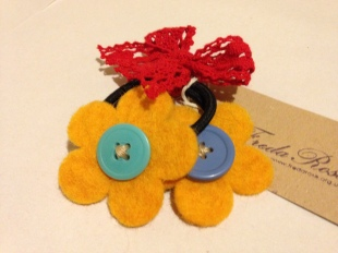 fairtrade yellow bobbles