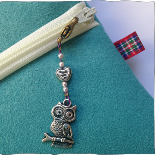 Handmade Key Charms Owl