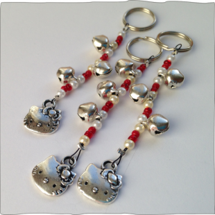 Hello Kitty Key Rings