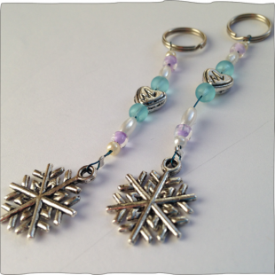 Phone Charms snow flake