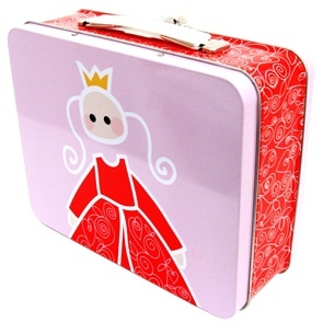 Tin Lunch Box Princess
