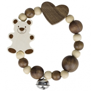 Elastic touch ring bear and bell