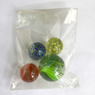 4 marbles