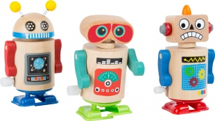 wind up robots toy
