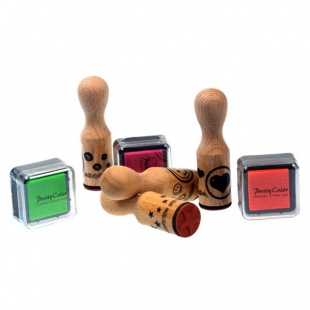 wooden stamps 1