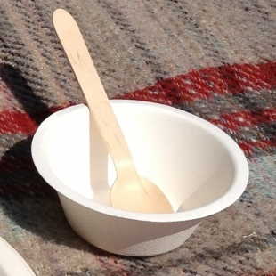 Wooden Party Spoon