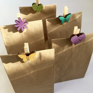 Party Bag Recycled Small with peg