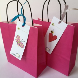Party Bags Recycled shapes