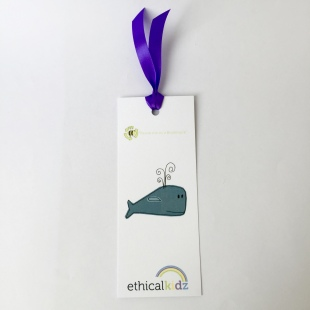 Recycled Bookmark Whale