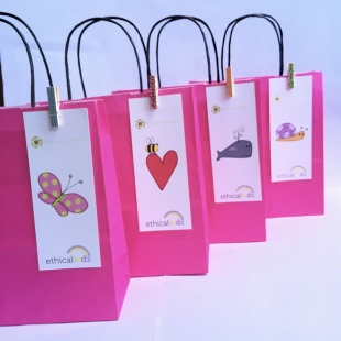Recycled Party Bag Pink 2