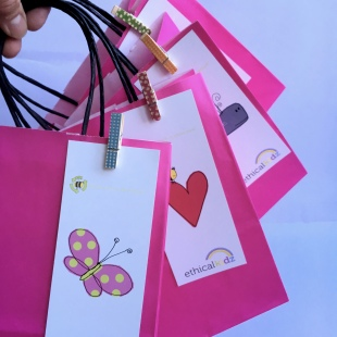 Recycled Party Bag Pink 4