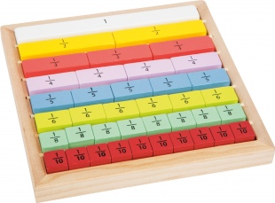 Learn Fractions Wooden