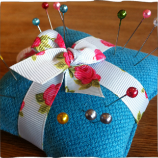 Handsewn Pin Cushion