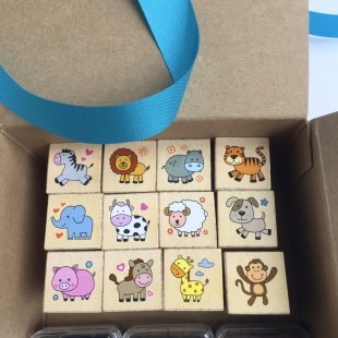 Stamps 12 in Gift Box